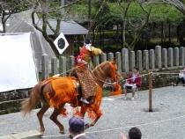 田実祭流鏑馬