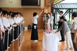 第40回西日本地区高等専門学校弓道大会1