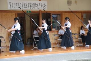 第40回西日本地区高等専門学校弓道大会4