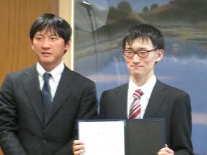小野副知事と牧君